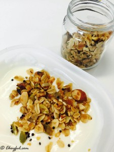 coconut oil granola yogurt