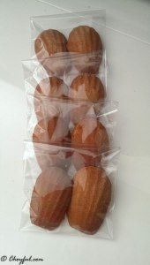 madeleines packaged