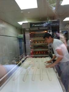 Baguette making