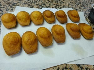 Madeleines - Apparently the