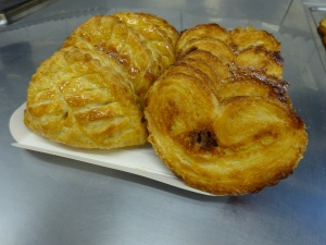 Apple Turn overs & Palmiers