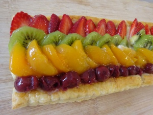 :D Puff Pastry is back! - Fruit Troche