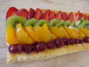 :D Puff Pastry is back! - Fruit Troche